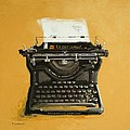 Patricia Cotterill - Underwood typewriter