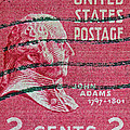 Bill Owen - 1938 John Adams Stamp