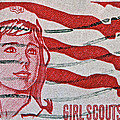 Bill Owen - 1962 Girl Scouts Stamp