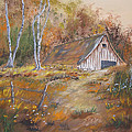 Mark Perry - Autumn Barn