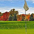 Frozen in Time Fine Art Photography - Autumn Golf
