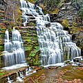 Robert Harmon - Finger Lakes Waterfall