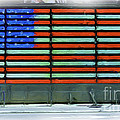 Allen Beatty - Neon American Flag