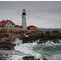 Richard Bean - Portland Head Light at...