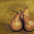 Marna Edwards Flavell - 3 Pear Study