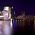 Frozen in Time Fine Art Photography - Cleveland Skyline