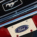 Gary Gingrich Galleries - 68 Mustang Logo N Plate...