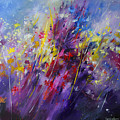 Mario Zampedroni - Abstract Flowers