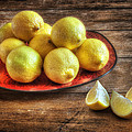 Wendy Thompson - A Plate of Lemons in the...