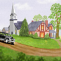 Zelma Hensel - A Small Country Village