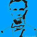 Pixel Chimp - Abraham Lincoln Abstract