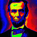Stefan Kuhn - Abraham Lincoln Pop Art