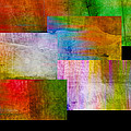 Ann Powell - abstract art Rectangle...