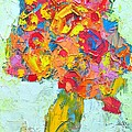 Ana Maria Edulescu - Abstract Floral...