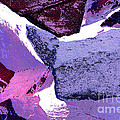 Regina Geoghan - Abstract In Purple