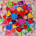 Ana Maria Edulescu - Abstract Love Bouquet Of...