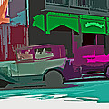Joseph Coulombe - Abstract Vintage Cars