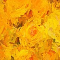 Alice Gipson - Abstracted Yellow Roses