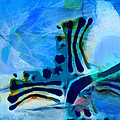 Artwork Studio - Abstraction Blue 1