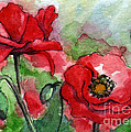 Kirohan Art - AC139 Red Poppies