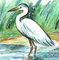 Kirohan Art - AC252 Bird Egret