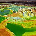 Liudmila Di - Acid lakes of Dallol...