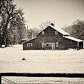 AGeekonaBike Photography - An Old Barn in the Winter