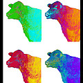 Ann Powell - Animals Cows Warhol Pop...
