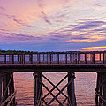 Bill Tiepelman - Arcola Bridge - Purple...