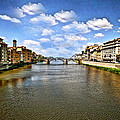 Maggie Vlazny - Arno River Florence Italy