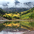 Julie Magers Soulen - Autumn at Maroon Bells...