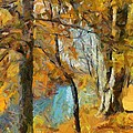 Dragica  Micki Fortuna - Autumn at the River
