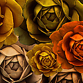 Jennie Marie Schell - Golden Autumn Rose...