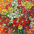 Ana Maria Edulescu - Autumn Flowers Colorful...