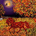 Michele  Avanti - Autumn Horse Bewitched