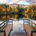 David Bowman - Autumn in Glencoe Lochan