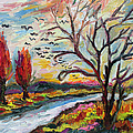 Ginette Callaway - Autumn Red and Bird...