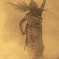 Margaret Bobb - Aztec Dancer in the Mist