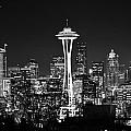 Safe Haven Photography Northwest - B and W Space Needle
