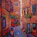 R W Goetting - Backstreet in Chania II