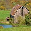 Lori Frisch - Barn In Autumn