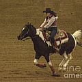 Janice Rae Pariza - Barrel Racing...
