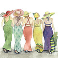 Nan Wright - Beach Babes in Coverups...