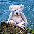 Sharon Cummings - Beach Bum - Teddy Bear...