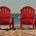 Luv Photography - Red Chairs