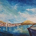 M Bleichner - Beautiful Chalki Harbour...