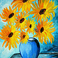 Ramona Matei - Beautiful Sunflowers in...