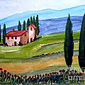 Christine Huwer - Beautiful Tuscany
