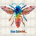 Sharon Cummings - Bee Colorful - Art by...