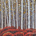 Sally Rice - Birches